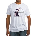 Hanging with Grim Fitted T-Shirt