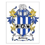 Jeffrey Coat of Arms Small Poster