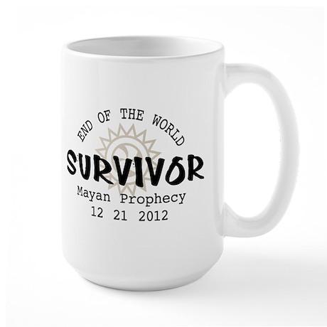End of the World Survivor 2012 Large Mug