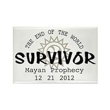 End of the World Survivor 2012 Rectangle Magnet