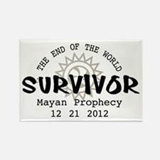End of the World Survivor 2012 Rectangle Magnet