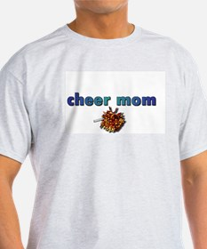Cheer Mom Ash Grey T-Shirt