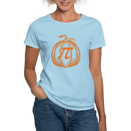Pumpkin Pi Women's Light T-Shirt