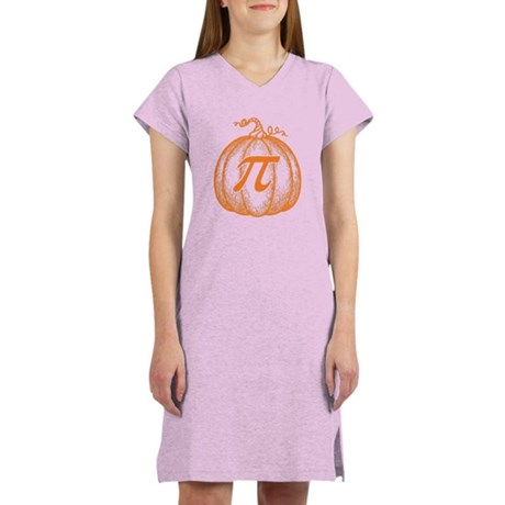 Pumpkin Pi Women's Nightshirt