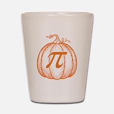 Pumpkin Pi Shot Glass