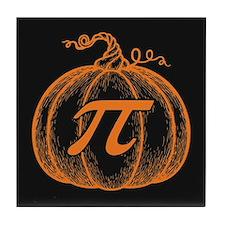Pumpkin Pi Tile Coaster