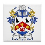 Jarvie Coat of Arms Tile Coaster