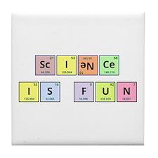 Science is Fun Tile Coaster