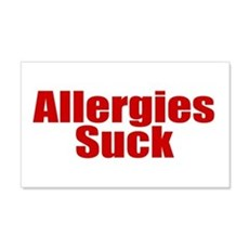 Allergies Suck Wall Decal