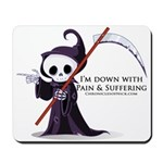 Hanging with Grim Mousepad