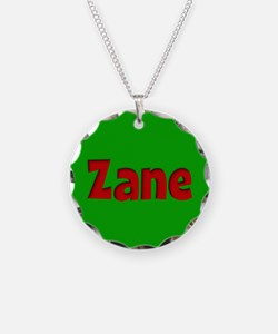 Zane Green and Red Necklace