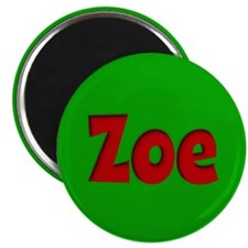 Zoe Green and Red Magnet