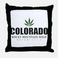 Colorado Referendum Throw Pillow