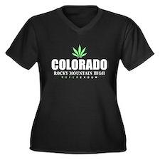 Colorado Referendum Women's Plus Size V-Neck Dark