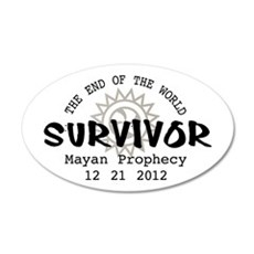 End of the World Survivor 2012 Wall Decal