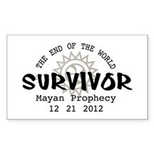 End of the World Survivor 2012 Decal