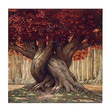 Enchanted Tree Tile Coaster