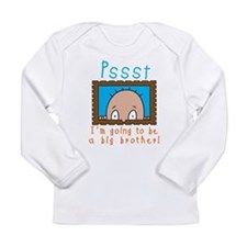 I'm Going to be a Big Brother Long Sleeve T-Shirt