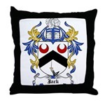 Jack Coat of Arms Throw Pillow