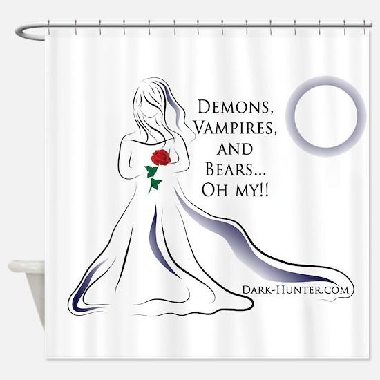 Vampires Rule Shower Curtain