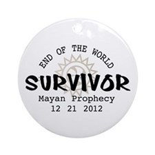 End of the World Survivor 2012 Ornament (Round)