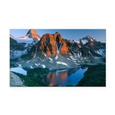 Mount Assiniboine - Car Magnet