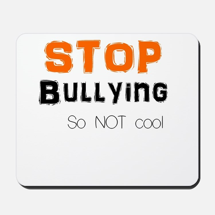 stop bullying Mousepad
