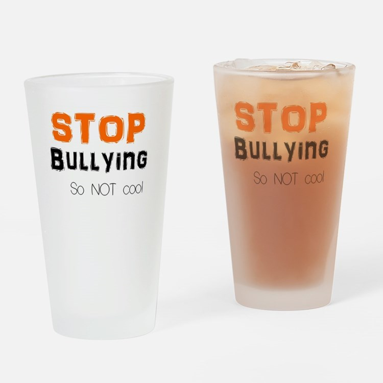 stop bullying Drinking Glass