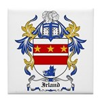 Irland Coat of Arms Tile Coaster