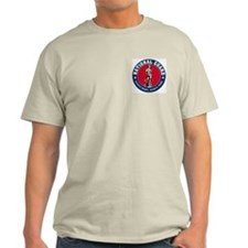 National Guard Logo Ash Grey T-Shirt