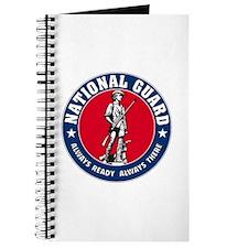 National Guard Logo Notebook