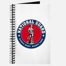 National Guard Logo Notebook