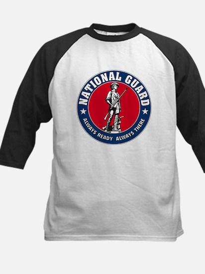 National Guard Logo Kids Baseball Jersey