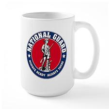 National Guard Logo MugPRINTED BOTH SIDES