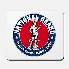 National Guard Logo Mousepad