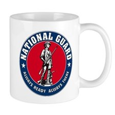 National Guard Logo Mug PRINTED BOTH SIDES