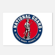 National Guard Logo Postcards (Package of 8)