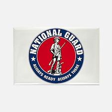 National Guard Logo Rectangle Magnet