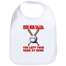 Funny Baseball Saying Bib