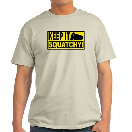 AUTHENTIC Bobo KEEP IT SQUATCHY Light T-Shirt