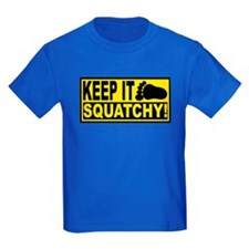 AUTHENTIC Bobo KEEP IT SQUATCHY T