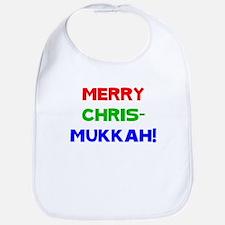 Merry Chrismukkah Bib