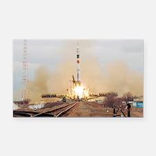 Soyuz TMA-14 crew before launch - Car Magnet