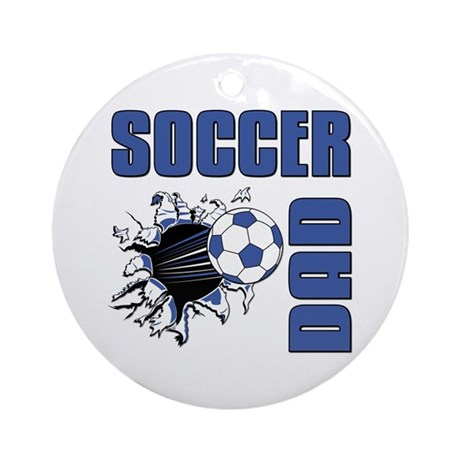 Soccer Dad Ornament (Round)