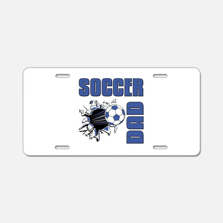 Soccer Dad Aluminum License Plate