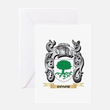 Conor Family Crest - Conor Coat of Greeting Cards