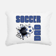 Soccer Dad Rectangular Canvas Pillow