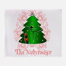 Nutcracker Ballet Throw Blanket