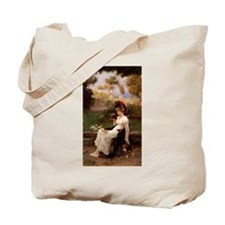 A Good Book and Your Kitty Tote Bag