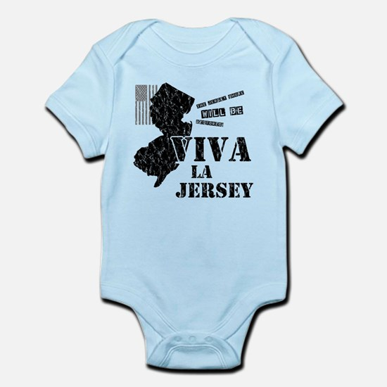 Viva La Jersey Infant Bodysuit